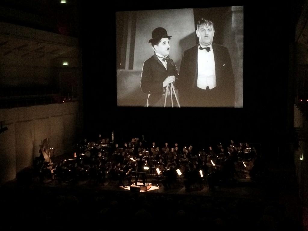 Echte Kinoatmosphäre im Konzerthaus. Foto: Anneliese Schürer.