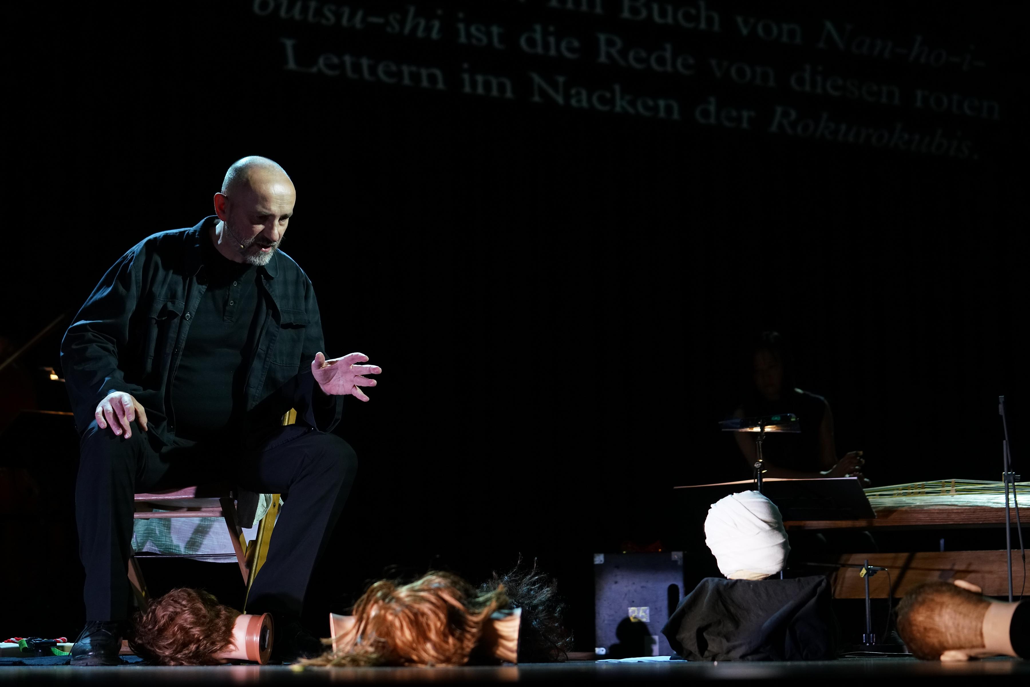Ensemble Musikfabrik, Misato Mochizuki/Ttes fŸr Rezitator und Ensemble, Rezitator Paul-Alexandre Dubois, Dirigent Anno Poppe