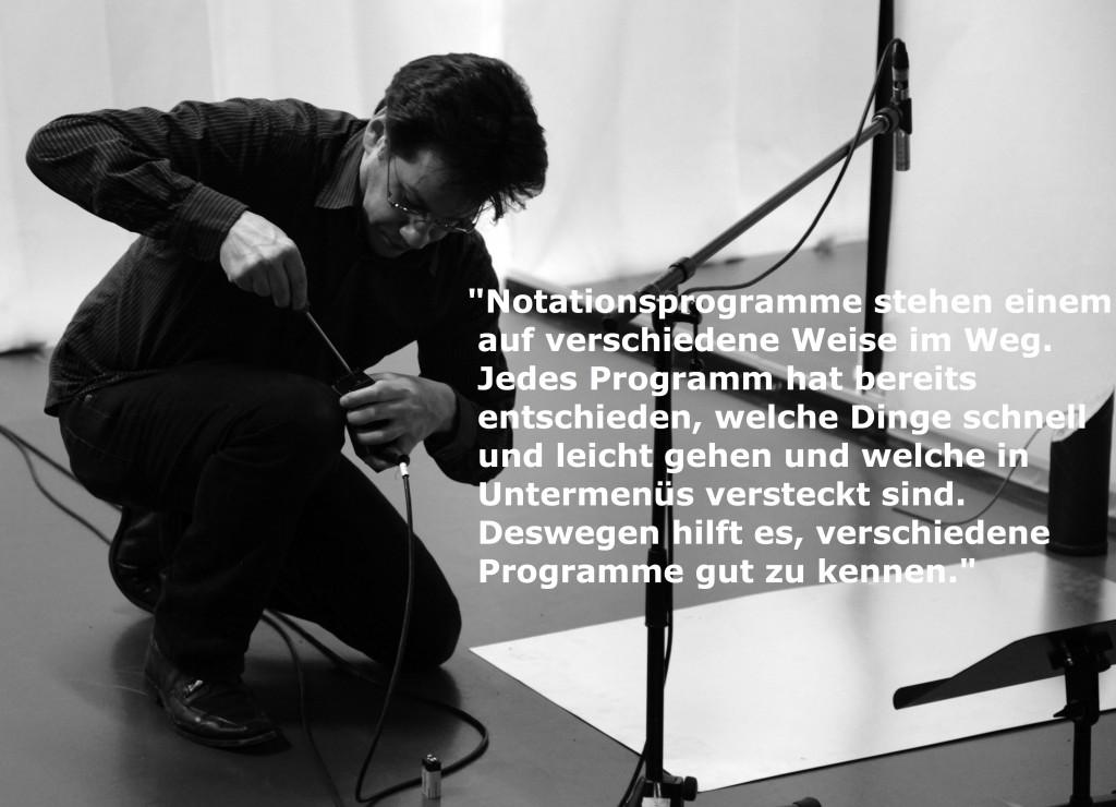 Roman Pfeifer, u.a. Dozent für Notation an der Folkwang Universität der Künste, Essen